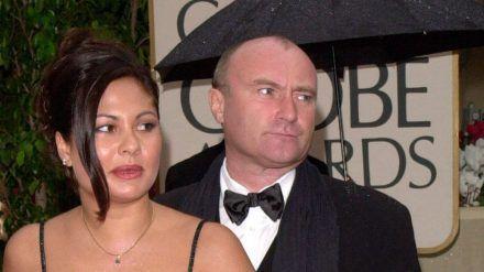 Ein Foto aus glücklicheren Zeiten: Phil Collins und seine Orianne im Jahr 2000. (dr/spot)
