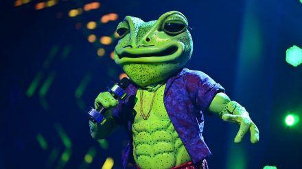 """Der Frosch ist bei """"The Masked Singer"""" rausgeflogen. Aber wer steckte darunter? (stk/spot)"""