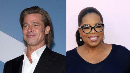 Brad Pitt und Oprah Winfrey haben ein gemeinsames Filmprojekt. (cam/spot)