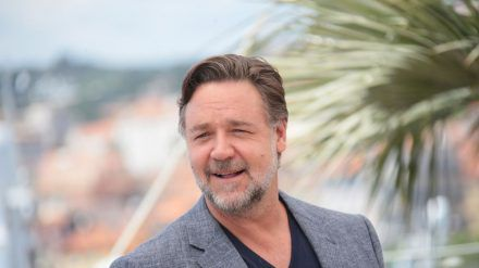 Russell Crowe 2016 beim Filmfestival in Cannes. (ncz/spot)