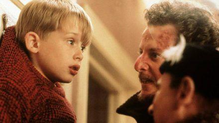 """Macaulay Culkin in """"Kevin - Allein zu Haus"""" von 1990. (jru/spot)"""