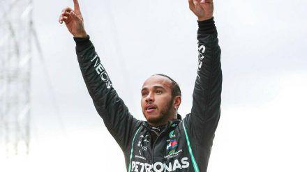 Nach seinem Sieg war Lewis Hamilton den Tränen nahe (rto/spot)