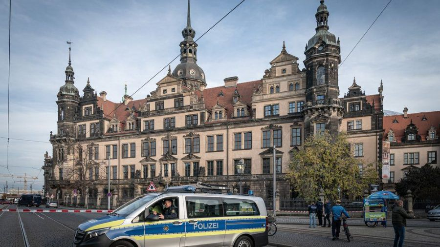 2019 brachen zwei Kunstdiebe in das Grüne Gewölbe ein - die Schatzkammer der Dresdner Residenz. (amw/spot)