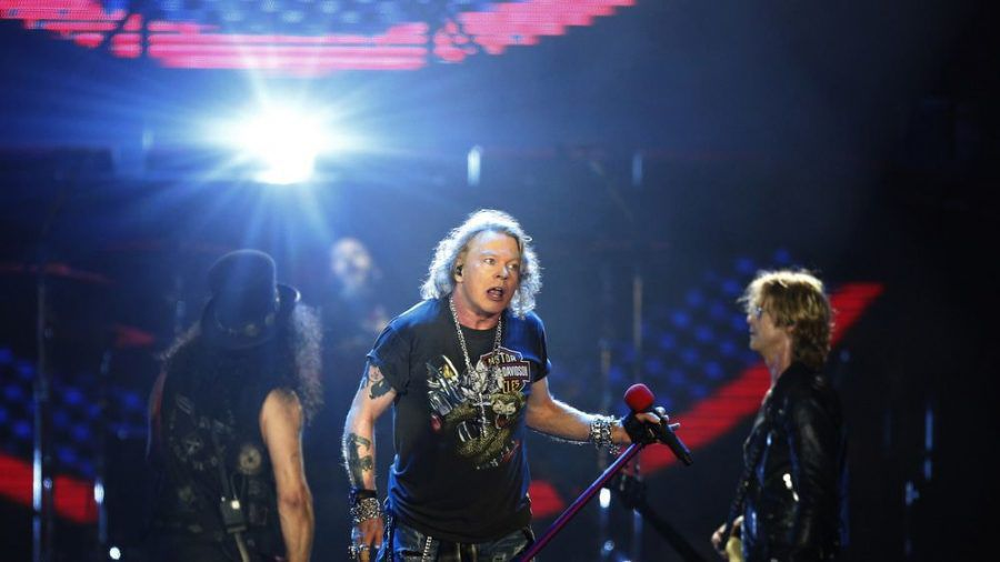 Axl Rose will mit Guns N' Roses 2021 groß auf Tour gehen. (cam/spot)