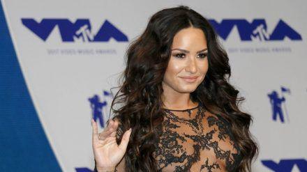Demi Lovato bei den MTV Video Music Awards 2017 - inzwischen sieht sie ganz anders aus. (ncz/spot)