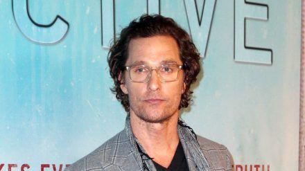 Matthew McConaughey ist offen für neue Karrierewege. (cam/spot)