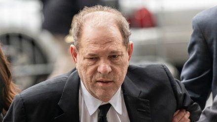 Harvey Weinstein im Januar 2020. (cos/spot)
