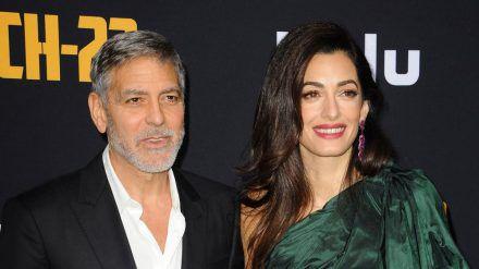 George und Amal Clooney gemeinsam auf einem Event im vergangenen Jahr (wue/spot)