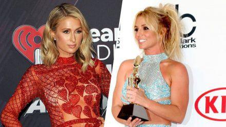 Mitte der 2000er Jahre zogen Paris Hilton (l.) und Britney Spears häufig gemeinsam nachts um die Häuser. (wag/spot)