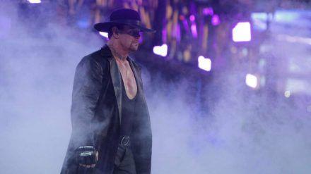 The Undertaker 2015 bei der WWE WrestleMania (mia/spot)