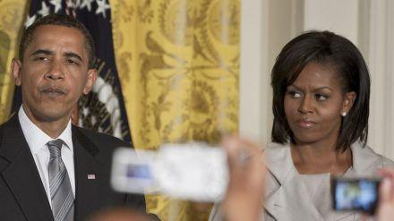 Barack und Michelle Obama hatten schwere Zeiten im Weißen Haus (rto/spot)