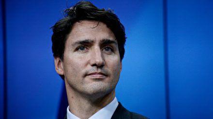 Dieses Telefongespräch wird Justin Trudeau bestimmt nicht so schnell vergessen. (hub/spot)