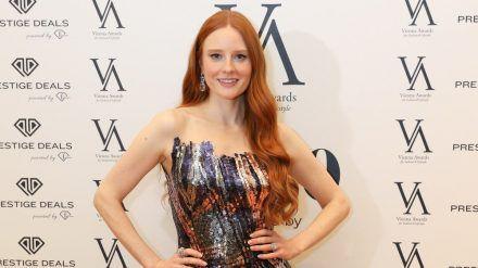 Barbara Meier bei den Vienna Awards. (obr/spot)