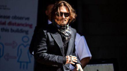 Johnny Depp hat kein Glück vor Gericht. (jom/spot)