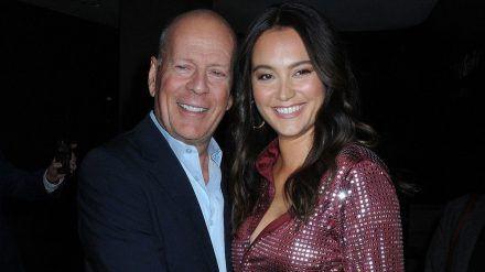 Bruce Willis und Emma Heming auf einer Premiere Ende 2019 (mia/spot)