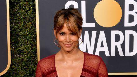 Halle Berry auf dem roten Teppich der Golden Globes in Los Angeles. (eee/spot)