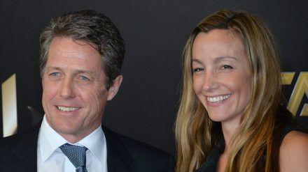 Hugh Grant und Anna Eberstein haben drei gemeinsame Kinder (rto/spot)