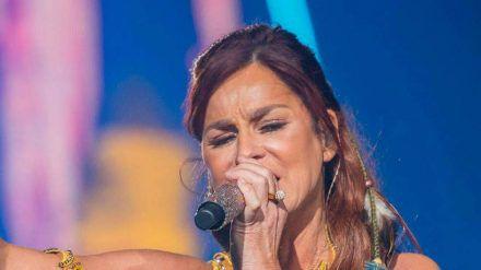 Andrea Berg bei einem ihrer Auftritte (hub/spot)