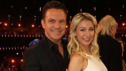 Stefan Mross und seine Frau Anna-Carina bei einem gemeinsamen Auftritt (hub/spot)