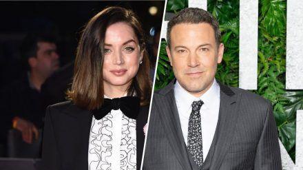 "Ben Affleck und Ana de Armas sollen sich bei den Dreharbeiten zu ""Deep Water"" kennen gelernt haben. (amw/spot)"