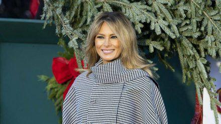 Vor wenigen Tagen hat Melania Trump den Weihnachtsbaum für das Weiße Haus in Empfang genommen (rto/spot)
