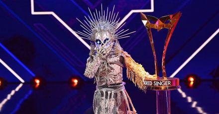 """""""The Masked Singer""""-Finale: Das Skelett holt sich den Sieg"""