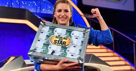 """""""Schlag den Star"""": Stefanie Hertel besiegt Cathy Hummels - Highlightvideos!"""