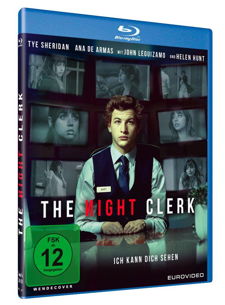 """Verlosung """"The Night Clerk - ich kann dich sehen"""""""