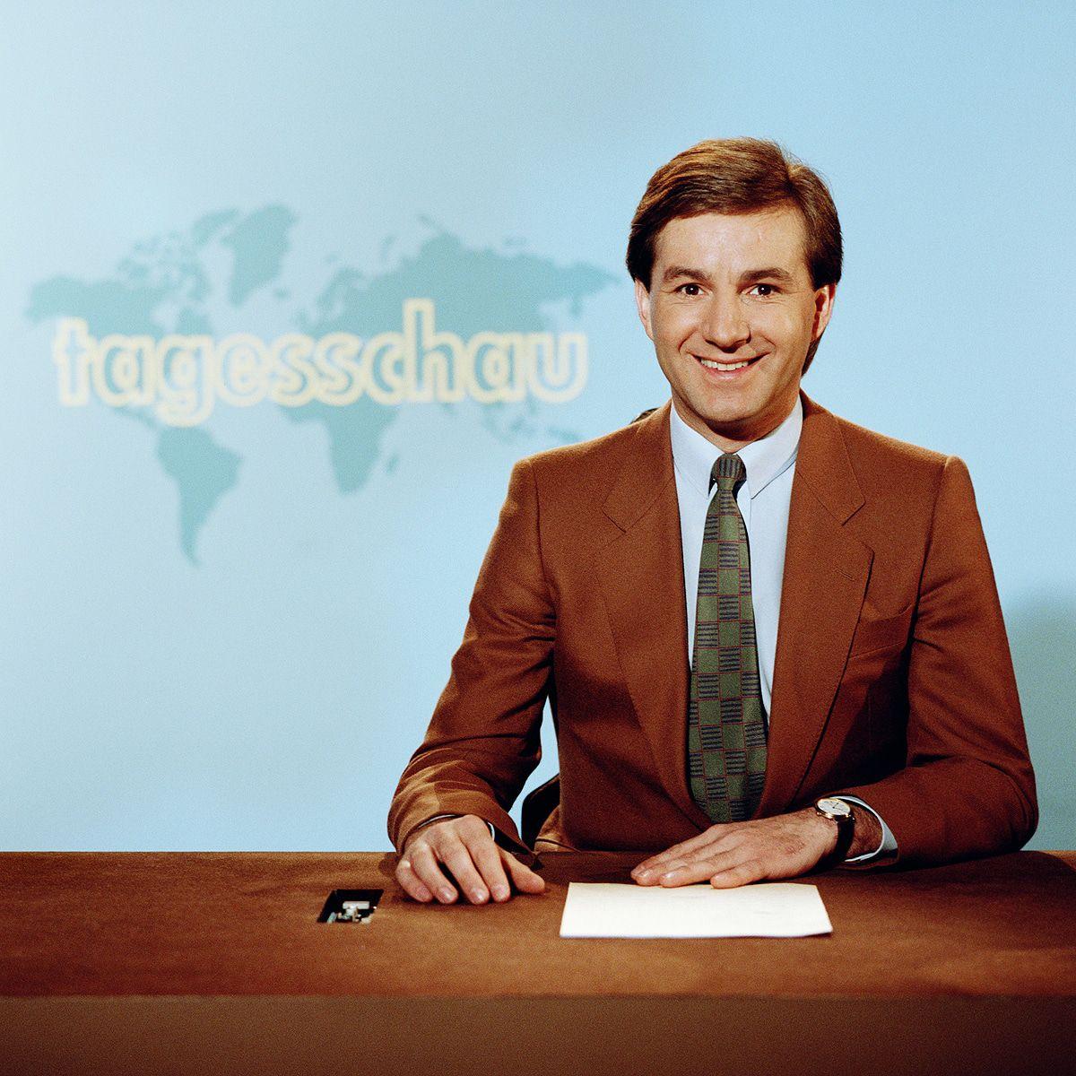 """Jan Hofer: Bilder aus 35 Jahren """"Tagesschau""""-Karriere"""
