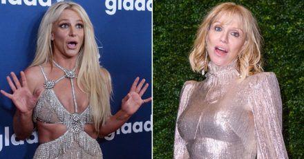 Courtney Love wäre fast auch so wie Britney Spears abgestürzt