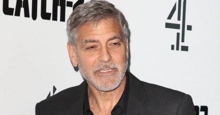 George Clooney überlebt nur knapp Motorradunfall