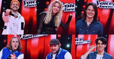 """""""The Voice""""-Finalisten veröffentlichen ihre ersten eigenen Singles"""