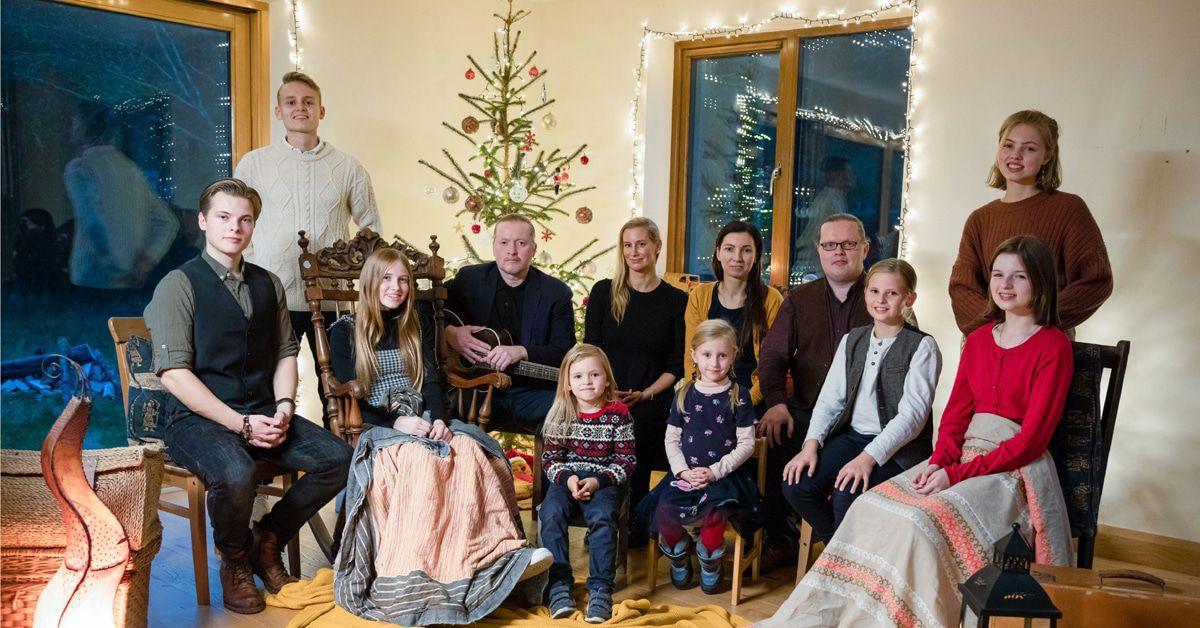 Angelo Kelly & Family: Wie feiern die eigentlich Weihnachten?