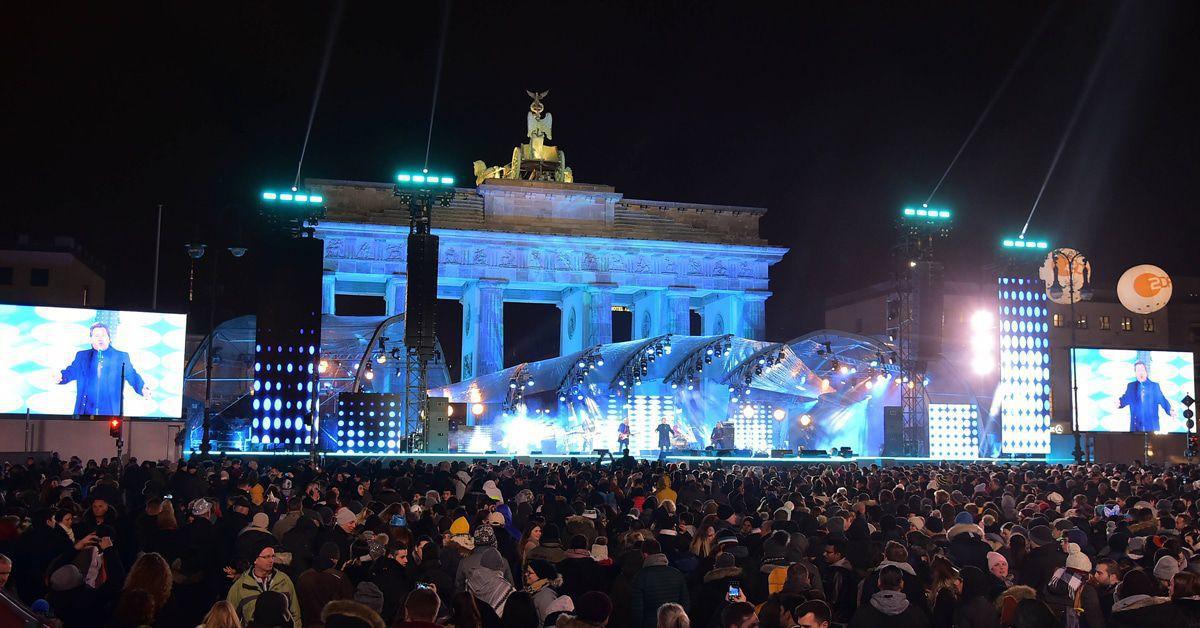 Das ZDF holt Silvester die Stars ans Brandenburger Tor. Darf ich da hin?