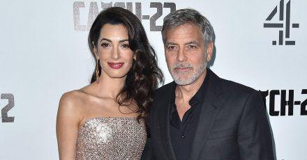 George Clooney sorgte sich um seinen Sohn