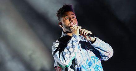 The Weeknd beim Musikfestival Lollapalooza 2018 in Berlin.