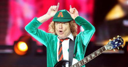 AC/DC-Leadgitarrist Angus Young.