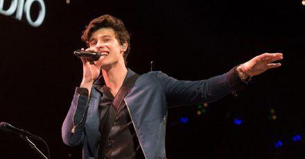 Sänger Shawn Mendes bei einem Konzert in Philadelphia 2018.