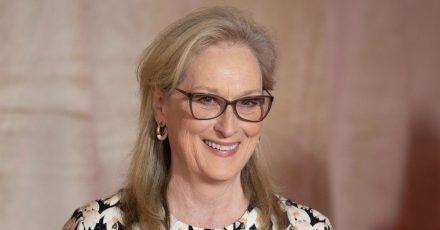 Schauspielerin Meryl Streep musste sich erst wieder an die Kamera gewöhnen.