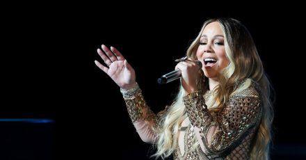 Mariah Carey steht in den Charts wieder ganz oben.