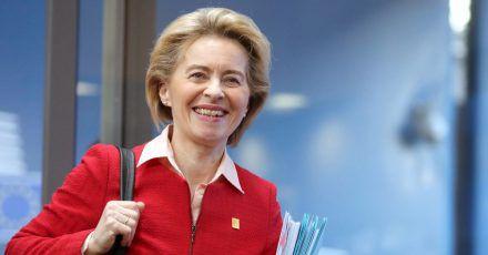 Ursula von der Leyen wurde geehrt.
