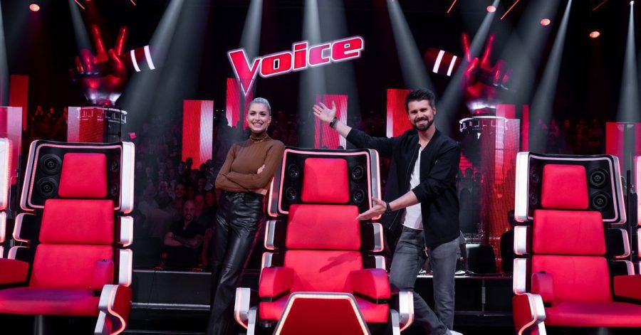 Lena Gercke und Thore Schölermann moderieren «The Voice of Germany».