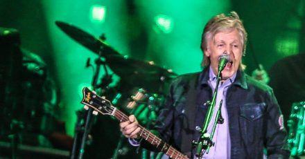 Paul McCartney ist die Nummer eins.