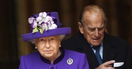 Königin Elizabeth II. und Prinz Philip sind nicht nach Sandringham gereist.