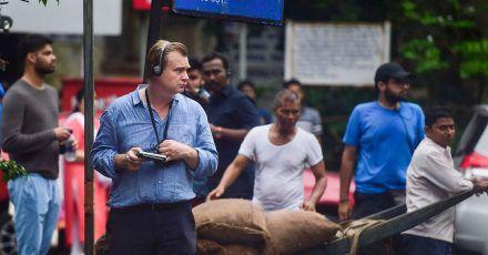Christopher Nolan bei den Dreharbeiten zu «Tenet» in Mumbai.