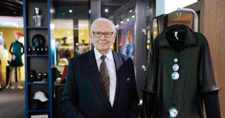Der französische Designer Pierre Cardin ist tot.