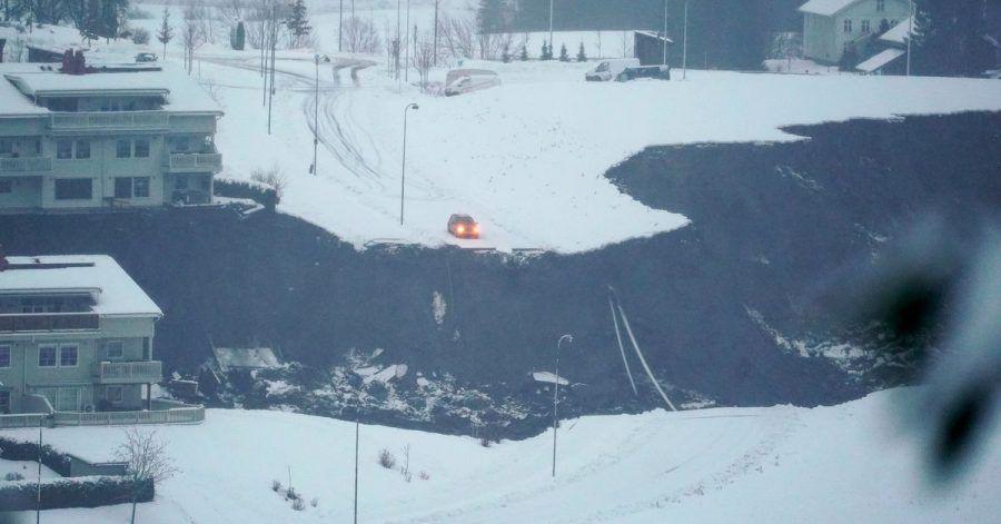 Ein Erdrutsch in der norwegischen Kleinstadt Ask Stadt hat eine große Spur hinterlassen. Nach dem Erdrutsch im Süden Norwegens sind mehr als 150 Menschen in Sicherheit gebracht worden.