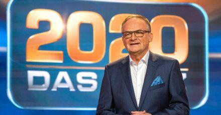 «2020 -  Das Quiz» - moderiert von Frank Plasberg.
