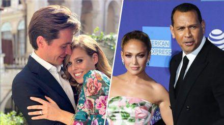 Von der Royal Wedding bis zur Popstar-Trauung: 2020 fielen einige Hochzeiten wegen Corona ins Wasser. (ncz/spot)