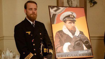 """Stefan Konarske alias Ulrich Wrangel in """"Das Boot"""". (cam/spot)"""